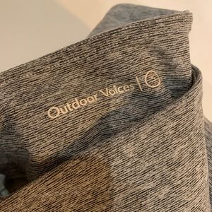 Outdoor Voices Pants - TechSweat 7/8 Two-Tone Leggings